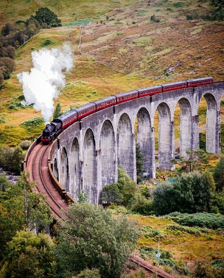 Photologue : Glenfinnan, ScottishHighlands