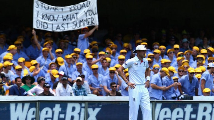 Ashes in Australia : The English Menace