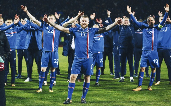 The Viking Miracle : Iceland's Journey to Russia 2018