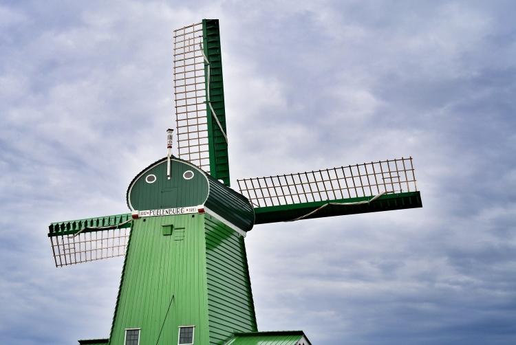 Windmill in Zaanse Schans