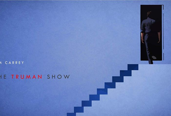 Truman Show Movie Review Jim Carrey