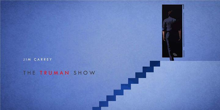 Truman Show Movie Review Jim Carrey